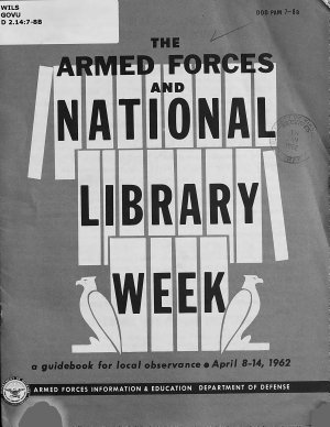 The Armed Forces and National Library Week PDF