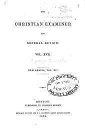 The Christian Examiner: Volume 17