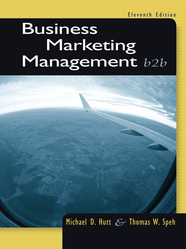 Business Marketing Management: B2B