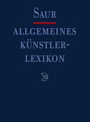 Allgemeines K  nstlerlexikon  A Alanson PDF