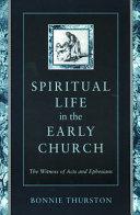 Spiritual Life in the Early Church