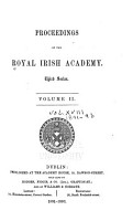 Proceedings of the Royal Irish Academy PDF