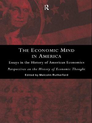 The Economic Mind in America PDF