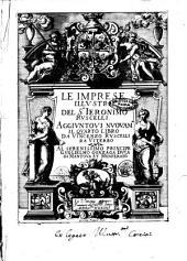 Le imprese illustri del s.or Ieronimo Ruscelli. Aggiuntoui nuouam.te il quarto libro da Vincenzo Ruscelli da Viterbo ..