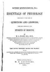 Essentials of Physiology: Arranged in the Form of Questions and Answers