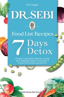 DR  SEBI Food List Recipes PDF