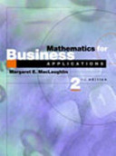 Mathematics for Business Applications PDF