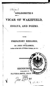 Goldsmith's Vicar of Wakefield, essays, and poems