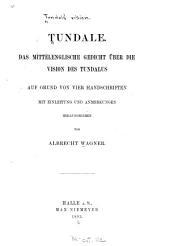 Tundale: Das mittelenglische gedicht über Die vision des Tundalus