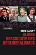 Kleine Geschichte des Neoliberalismus PDF