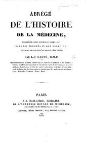 Abrégé de l'histoire de la Médecine. Depuis son origine jusqu'au dix-neuvième siècle