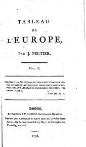 Tableau de l'Europe: Volume2