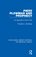 Piers Plowman and Prophecy