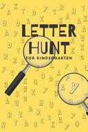 Letter Hunt for Kindergarten