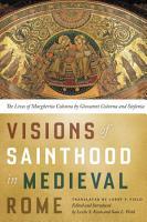 Visions of Sainthood in Medieval Rome PDF