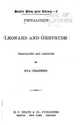 Pestalozzi's Leonard and Gertrude