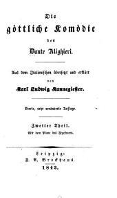 Die Göttliche komödie des Dante Alighieri: Band 2