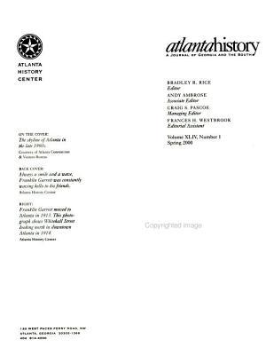 Atlanta History PDF