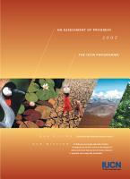 An assessment of progress 2002   the IUCN programme PDF
