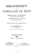 Bibliothèque de la Compagnie de Jésus: Volume5