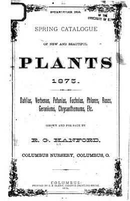 Spring Catalogue of New and Beautiful Plants 1875 PDF