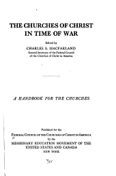 The Churches of Christ in Time of War