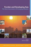 Frontier and Developing Asia PDF