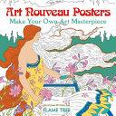 Art Nouveau Posters  Art Colouring Book  PDF