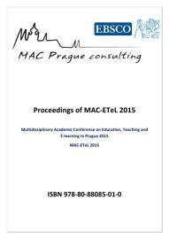 Proceedings of MAC ETeL 2015 PDF