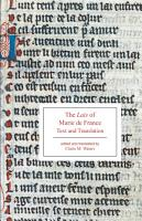 The Lais of Marie de France PDF
