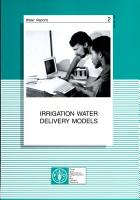 Irrigation Water Delivery Models PDF