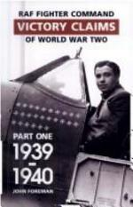 Fighter Command Air Combat Claims, 1939-45: 1939-1940