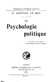 Le psychologie politique