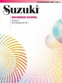 Suzuki Recorder School, Soprano and Alto Recorder