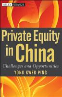 Private Equity in China PDF