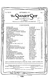 The Smart Set: Volume 47, Issue 1