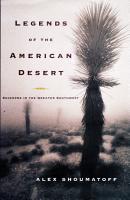 Legends of the American Desert PDF