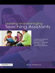 Leading and Managing Teaching Assistants PDF