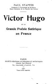 Victor Hugo et la grande poésie satirique en France