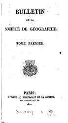 Bulletin de la Soci  t   de G  ographie PDF