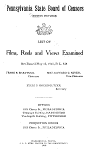 List of Films  Reels and Views Examined
