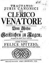 De clerico venatore