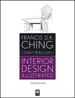 Interior Design Illustrated PDF