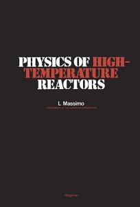 Physics of High Temperature Reactors