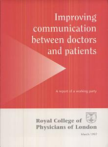 Improving Communication Between Doctors and Patients Book