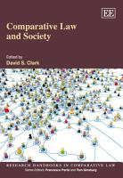 Comparative Law and Society PDF
