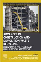 Advances in Construction and Demolition Waste Recycling PDF