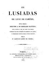 Os Lusiadas de Luiz de Camões