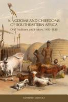 Kingdoms and Chiefdoms of Southeastern Africa PDF