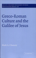 Greco Roman Culture and the Galilee of Jesus PDF